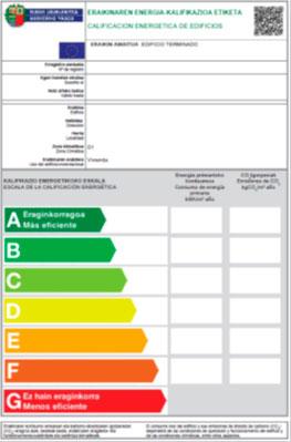Certificados eficiencia energética viviendas